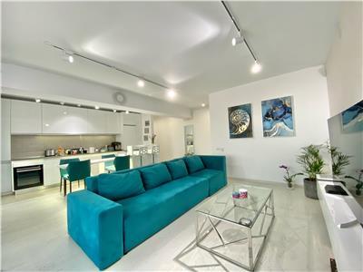 Apartament 2 camere, mobilat utilat de lux, bloc nou, albert ploiesti