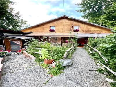 Cabana ta de vis cu apusul pe terasa.duplex, 2 vile lipite.
