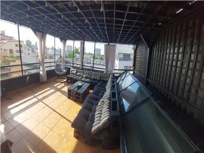 Penthouse cu terasa 67 mp, zona Dorobanti Floreasca