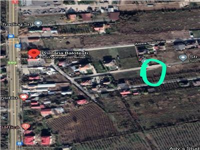 Vanzare Teren 586mp, Saftica, utilitati, zona vile