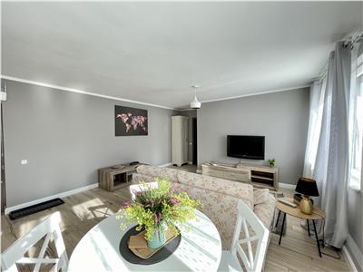 Inchiriere apartament 2 camere amenajat frumos, in zona ultracentrala