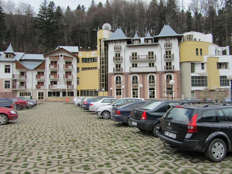 Complex turistic, slanic moldova