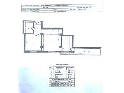 Apartament 2 camere barbu vacarescu - bloc nou