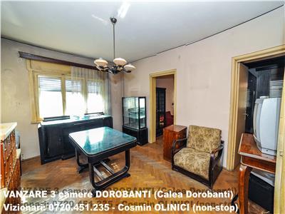 VANZARE apartament 3 camere in vila DOROBANTI (Calea Dorobanti)