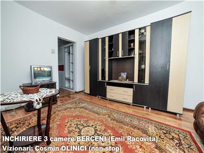 INCHIRIERE 3 camere BERCENI - Emil Racovita, stradal