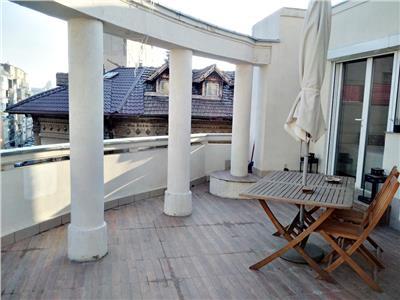 Vanzare ap. 3 camere, cochet, cu terasa de 26 mp, caderea bastiliei