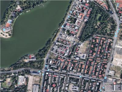 Teren 660 mp rezidential sau comercial, Floreasca Parcul Verdi