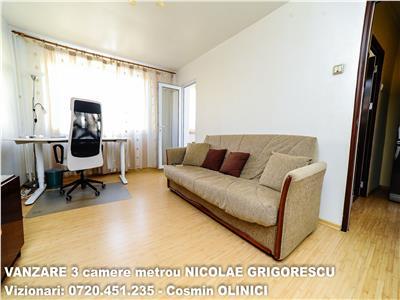 VANZARE 3 camere decomandate SALAJAN - metrou NICOLAE GRIGORESCU
