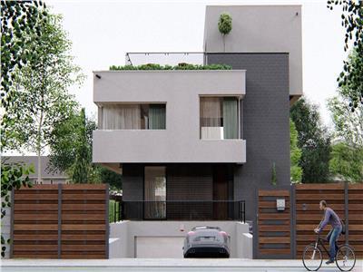 Vila superba la gri.soseaua margelelor. bragadiru.design modern.