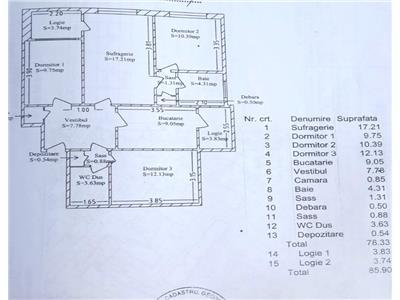 Oferta apartament 4 camere, Crangasi, George Valsan