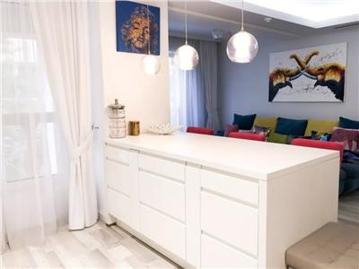 Apartament 2 camere mobilat modern, herastrau, locuinta sau investitie