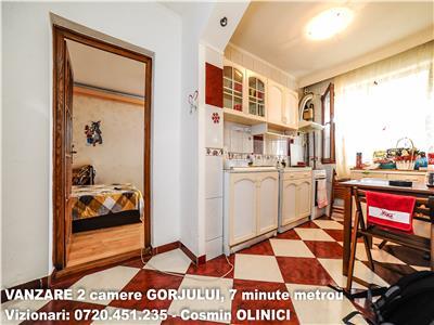 VANZARE apartament 2 camere decomandate GORJULUI, 7 minute metrou