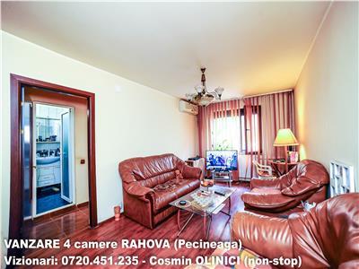 VANZARE 4 camere decomandate RAHOVA, zona Pecineaga