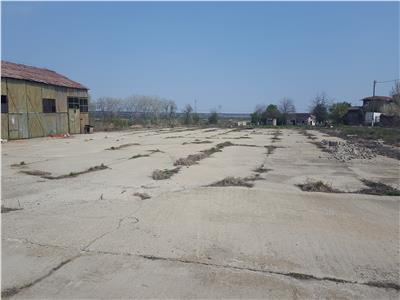 Vanzare teren 20401 mp fosta ferma Glina cu hale si constructii