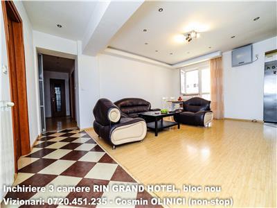 INCHIRIERE 3 camere VITAN-Barzesti, RIN Grand Hotel, bloc nou.