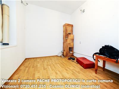 VANZARE 2 camere PACHE PROTOPOPESCU, curte comuna