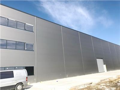 Hala moderna mp nou construita, spatii de birouri, autorizatie isu