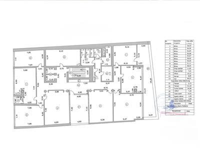 Spatii de birouri clasa a, intreg etajul sau partial, calea floreasca