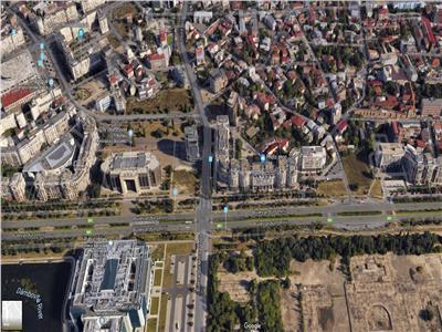 Teren 1900 mp Unirii Tribunal, Urbanism in lucru