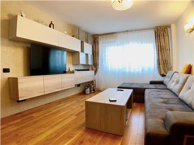 Apartament de lux 3 camere complet mobilat si utilat central Ploiesti