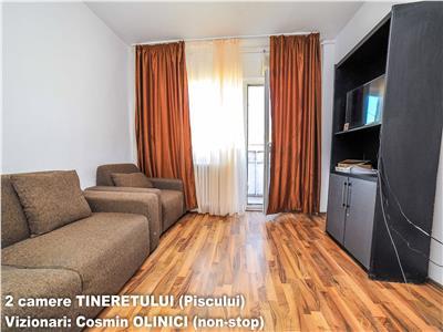 Tur virtual ! VANZARE apartament 2 camere TINERETULUI (Piscului)