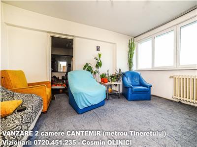VANZARE 2 camere CANTEMIR, stradal, metrou Tineretului