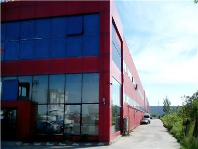 Hala industriala 2340 mp, teren 7500 mp, centura vest Bucuresti A1