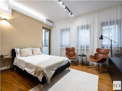 Inchiriere studio apartament ultracentral, mobilat nou designer