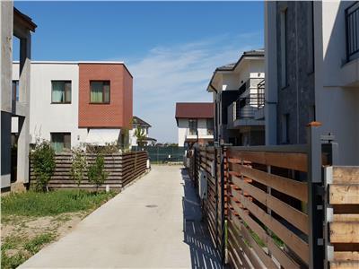 Vila noua Otopeni, curte proprie 140 mp, toate utilitatile