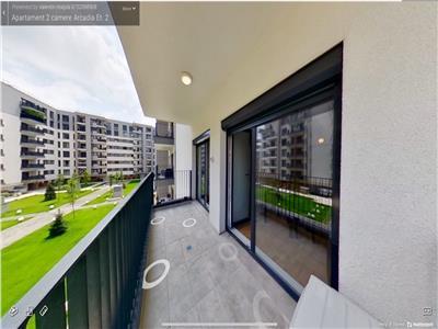 Inchiriere apartament - studio Domenii Arcadia- tur virtual