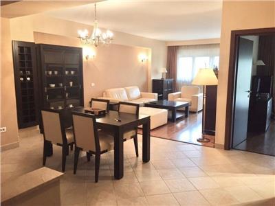 VIDEO! Superb apartament 2 camere Herastrau, TERASA 20mp, parcare