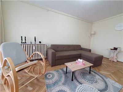 Inchiriere! apartament 3 camere transformat in 2 camere, brancoveanu