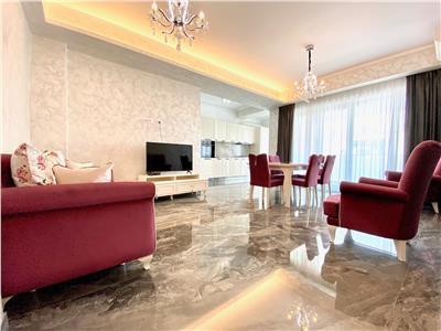 Apartament 3 camere, de lux piscina interioara, jandarmeriei baneasa