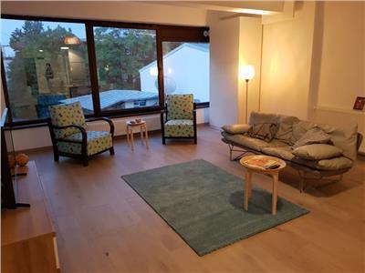 Inchiriere apartament 3 camere mobilat, nou+garaj,Eminescu, Polona