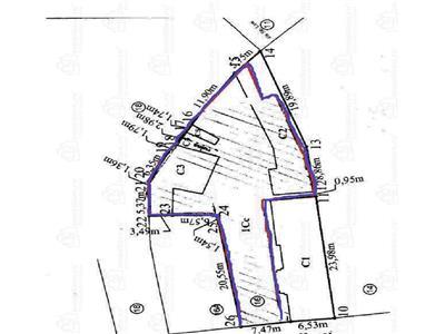 Vanzare teren intravilan  636  mp zona Bulevardul Ferdinand