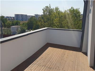 Apartament nou de vanzare aparatorii patriei metrou, terasa 21 mp