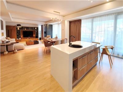 Apartament elegant aviatorilor, 200 mp utili, terase 38 mp, 2 parcari