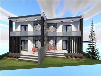 vand duplex 4 camere 3 bai, 170mp utili, 450mp curte