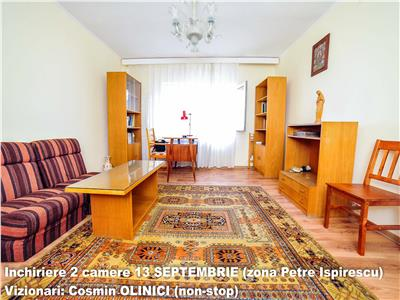 Inchiriere 2 camere 13 SEPTEMBRIE