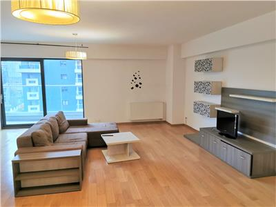 Inchiriere apartament 2 camere UpGround Residence, 90mp, terasa, 2 bai