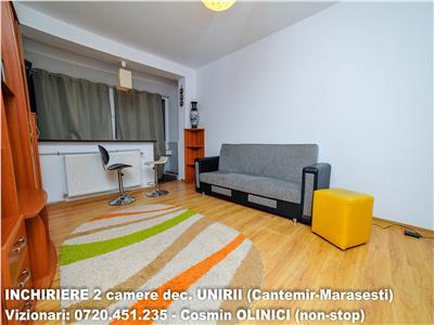 Inchiriere 2 camere decomandate UNIRII-CANTEMIR