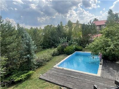 Casa premium cu piscina, complex high-class privat, langa lac
