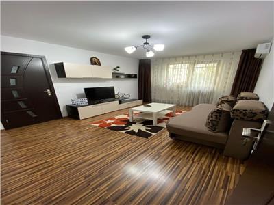 Apartament 3 camere Pantelimon cu centrala/parcare/AC/renovat total