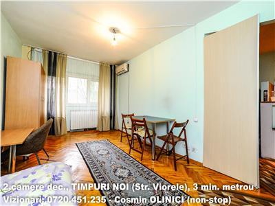 Inchirere 2 camere TIMPURI NOI (Viorele), decomandat