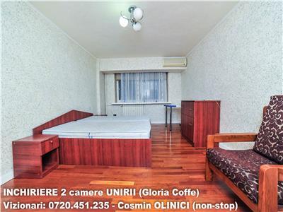 Inchiriere 2 camere decomandate UNIRII (Bulevard, Gloria Cofee)