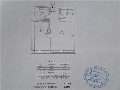 Inchiriere 2 camere 65 MPU Str Jimbolia Bucurestii Noi