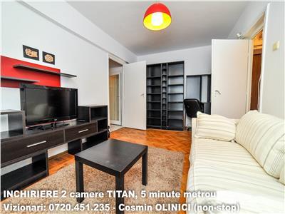 Inchiriere 2 camere titan, metrou titan