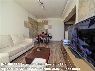 Apartament 3 camere Bdul LIBERTATII langa SRI loc parcare