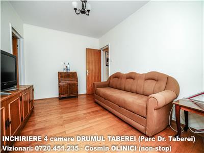 INCHIRIERE 4 camere dec. DRUMUL TABEREI - Parc Drumul Taberei