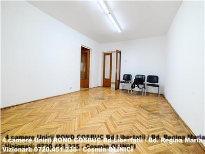 Inchiriere 4 camere UNIRII - Rond Cosbuc - Bd. Regina Maria